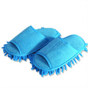 BL Floor Cleaning Mop Dust Cleaner Slippers Wipe Lazy Shoes Cover -One Size -
