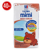 ULTRA Mimi Coklat Carton 125ml x 40pcs