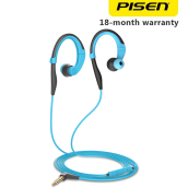 Pisen Earphone R100 Sport (In-ear) Kabel 1.3m Untuk Iphone / IOS