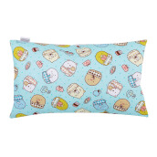 JOYLIVING Cushion Rectangular Squishy 30 cm x 50 cm - Polkadot Yellow