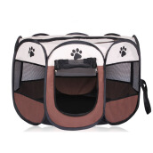 Jantens Portable folding pet tent dog house cage dog cat tent 73*73*43