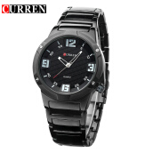CURREN 8111 Men Watch Top Brand Luxury Quartz Wrist Watches Waterproof Full Steel Watch