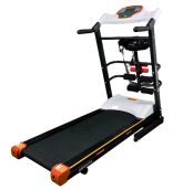 OneSports Motorized Treadmill 238 White Black