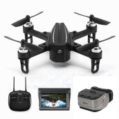 Eachine EX2mini Brushless 5.8G FPV Camera FPV Monitor Goggle With Angle Mode Acro Mode RC Drone Quadcopter RTF Black