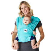 Baby K'Tan Baby Carrier Breeze Teal | Gendongan Bayi