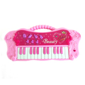 Beauty Electronic Piano Mainan Musikal Anak - 104A Pink Pink