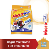 BAGUS Micromate Lint Roller Refill Type 310  2's
