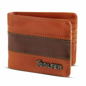 GOLFER - MEN WALLET DOMPET KASUAL PRIA - GF.2801 - BROWN