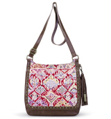 Sakroots Seni Flap Crossbody Bag Sweet Red Brave Beauti