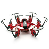 JJRC H20 Nano Hexacopter 2.4G 4CH 6Axis Headless Mode RTF Merah