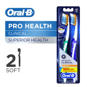 ORAL-B Pro-Health Clinical Adult Soft 2pcs