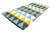 Sleep Max Matras Lipat - Geometric Grey / 80x180x4cm
