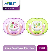 AVENT Freeflow Soother 18m+ TwinPack SCF186/25