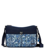 Sakroots Nylon Hobo Bag Blue Steel Spirit Desert