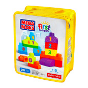 MEGA BLOKS Build N Learn-123 Count DLH85