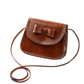 Jantens New Fashion Casual Vintage Women ladies leather wallets Bowknot Purse