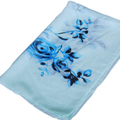 LOVOSME Japanese and Korean sweet printed chiffon ladies scarves