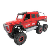 Jantens RC Car 1:10 6WD 2.4Ghz Remote Control Off Road Truck Double Motor Vehicle 6x6 RC Rock Crawler Buggy Climbing Car