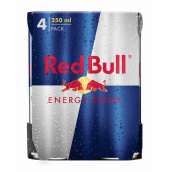 RED BULL Energy Drink Can Bundle 250ml x 4pcs