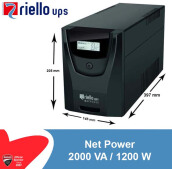 Riello Net Power 2000 VA / 1200 Watt