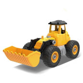 COZIME Kids Children Bulldozer Toy Truck Pretend Play Set Assemble Toy With Toy Tool Multicolor