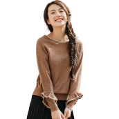 INMAN G1881302623 Knitwear 2018 New Products Women Spring Clothes Long Sleeves Pullovers Womens Sweaters