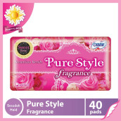 CHARM Pantyliner Pure Style Fragrance Sweet Rose 40 pads