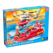 EMCO Fire Boat & Helicopter 108802