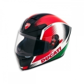 Ducati Helmet Peak V3 Ece (Helm Full Face) Red L