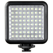 LED64 1000Lux Photography Fill Light Black