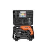 Black+Decker 13mm Hammer Drill Value	Pack (88 accessories) HD555KOPR-B1