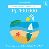 Iziroam Voucher Value Rp 100.000