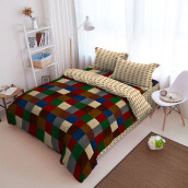 Kintakun Bed Cover D'luxe - 180 x 200 (King) - Siera