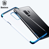 Baseus Samsung Galaxy S9 Plus Case, Luxury Plating Hard Case for Samsung Galaxy S9+ Ultra Thin Transparent Cover Case