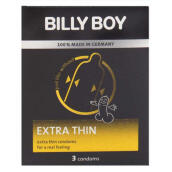 Billy Boy Kondom Extra Thin - 3 Pcs