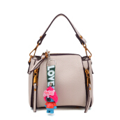 Keness F015 New handbag fashion casual handbag cute bear pendant shoulder Messenger bag