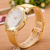 PEKY 2018 Stainless Steel Bracelet Watches Ladies Quartz Wristwatch Clock