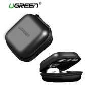 UGREEN Headphone Case Bag Portable Earphone Case Earbuds Hard Box (Black) Send from China, 7-15 Days!