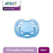 AVENT SCF178/13 Soother 0-6m Single Free Flow - Blue