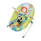 BRIGHT STARTS Vibrating Bouncer - Pattern Pals