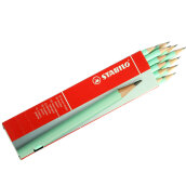 STABILO Schwan Pencil 2B Pastel - Green (1 Pack isi 12 Pieces)