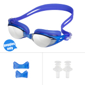 Jantens Men Women Swim Glasses Anti Fog UV Protection Swim Eyewear Professional Electroplate