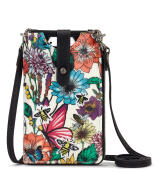 Sakroots Smartphone Sling Wallet Optic In Bloom