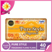 CHARM Pantyliner Pure Style Fragrance Luxury Ylang Ylang 40 pads