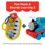 FISHER PRICE Fun Music & Sounds Learning 2