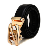 JINFENGLUOTUO Men's Business Cow Leather Belt