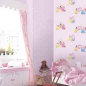 DREAM WORLD - Girl Room Pricess Casle D5043-1 ( 1.06 x 15.60m )