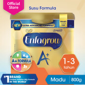 ENFAGROW A+ 3 Susu Madu Smart Lock Tub - 800g