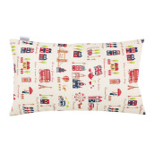 JOYLIVING Cushion Rectangular London Phone 30 cm x 50 cm - Navy