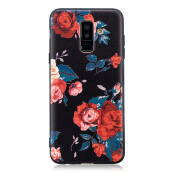 Samsung Galaxy A6 Plus 2018 Case Embossed Soft TPU Shockproof Print Protective Cover Multicolor